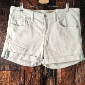 Pilcro and the Letterpress Stet Jean Cuffed Shorts